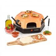 Klarstein Capricciosa, pizza sütő, 1500 W, melegentartó funkció, terrakotta (POV3-Capricciosa)