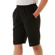 Ladies Black Woven Shorts - Black 14