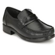 BIG JUNIOR Black Color Formal Shoes Slip On For Men(Black)