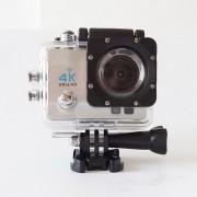 """Mini sj8000 4K Cámara de Acción WIFI 2,0 """"pantalla Full HD 1080 P/30fps casco Cámara impermeable DV control remoto de cámara de vídeo deportiva(#Plata)(#Q3HR)"""