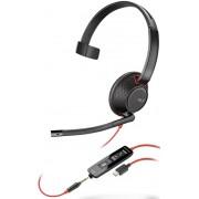 HEADPHONES, Plantronics Blackwire C5210, USB-C (207587-01)