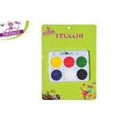 Parapiglia set trucco carnevale 6 colori con pennello