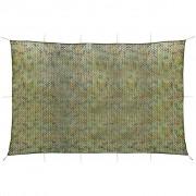 vidaXL Plasă de camuflaj cu geantă de depozitare, 6 x 8 m