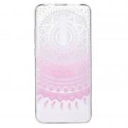 Xiaomi Stijlvol en mooi patroon TPU drop bescherming dekking voor Xiaomi Redmi K20/K20 PRO (roze patroon)