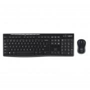 Combo Logitech Teclado + Mouse Inalámbrico MK270
