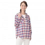 DEBUTTO カジュアルキュートなフード付きチェックシャツ【QVC】40代・50代レディースファッション