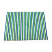 FairForward Placemat Bamboe Turquoise/Groen