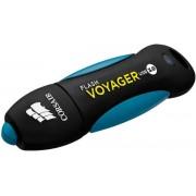 Stick USB Corsair Voyager V2, 64GB, USB 3.0 (Negru/Albastru)
