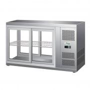 FORCAR Vetrina Refrigerata Espositore da Banco HAV111 - 150 Lt