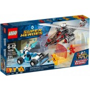 Lego Klocki konstrukcyjne LEGO DC Super Heroes Speed Force Freeze Pursuit 76098