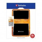 "Eksterni hard disk ''HDD External 2.5"" 750GB Verbatim Smart, USB 3.0/Black/53176"