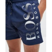 Boss By Hugo Boss Octopus Swim Shorts In Navy - Navy