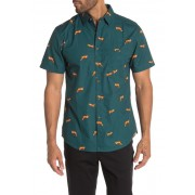 Sovereign Code Range Fox Print Short Sleeve Shirt FOXY FOX HUNTER