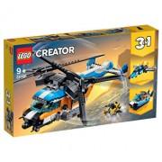 LEGO Creator 3 in 1, Elicopter cu rotor dublu 31096