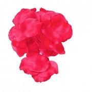 Confezione 288 petali in tessuto color magenta