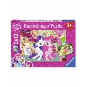 Puzzle Micul Meu Ponei, 2X12 Piese Ravensburger