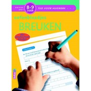 Tijd voor huiswerk - Oefenblaadjes Breuken 8-9 jaar