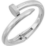 Memoir Stainless Steel Thick Nail Design Fashion Bracelet Kada Men