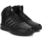 ADIDAS NEO CLOUDFOAM NIGHTBALL MID Sneakers For Men(Black)