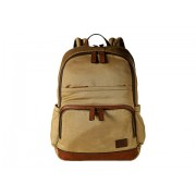 Frye Carter Backpack Tan Canvas