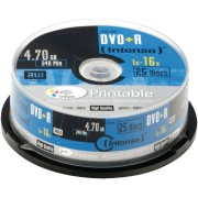 DVD+R4,7 INT25P - Intenso DVD+R 4,7GB, 25-er CakeBox, printable
