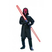 Star Wars Deluxe Darth Maul Childs Costume, Large
