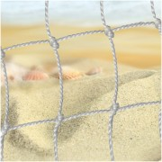 Plasa pentru poarta de fotbal pe plaja 2 buc. 5.20 х 2.20 x 1.50 m.