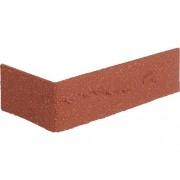 Placa colt piatra decorativa, Rosu 24x7,1 cm Elastolith