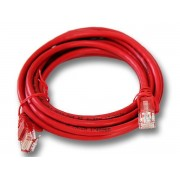 Linkbasic 3 Meter UTP Cat6 Patch Cable Red - CAT-6-3m-Red