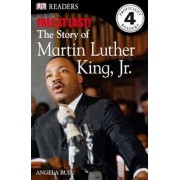 DK Readers L4: Free at Last: The Story of Martin Luther King, Jr., Paperback