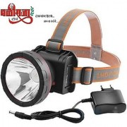 Headtorch by BALIRAJA headlamp head light upto 1000 meter (1km) Range Rechargeable head torch with lithium battery