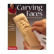 Carving Faces Workbook - Learn to Carve Facial Expressions with the Legendary Harold Enlow (Enlow Harold L.)(Paperback) (9781565235854)