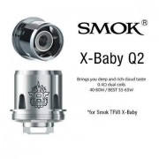 SMOK TFV8 X-Baby Q2 0.4 OHM Coil Head Single Coil