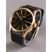 Nixon NIX SEN LEA NIX SENTRY LEA WAT - GOLD/BLK Colour: Gold/Black