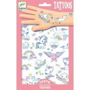 Zestaw tatuaży dla dziecka jednorożce, DJECO DJ09575