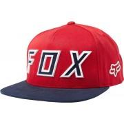 FOX Posessed Snapback Klobouk Jedna velikost červená