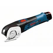 Ножица универсална акумулаторна GUS 12V-300, 12V/2 Ah, 700 min-1, t=4 mm PVC, 0,4 kg, 06019B2904, BOSCH