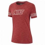 Nike W nk dry tee dfc brand slub AQ3259-850 S