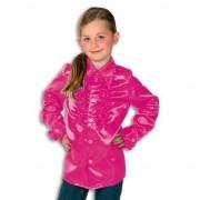 Geen Rouche blouse Rouches blouse roze voor jongens roze