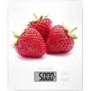 Cantar digital de bucatarie Medisana KS 210 40472 cu model capsuna 1-5kg Alb