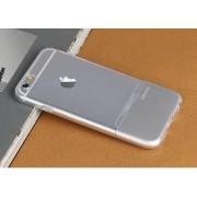 Силиконов гръб USAMS EASE за Apple iPhone 6S Сребрист
