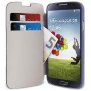 Capa estilo Carteira Puro para Samsung Galaxy S4 I9500, I9505, I9502 - Azul
