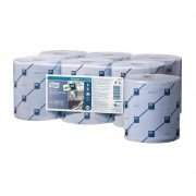 Tork Reflex handdoekrollen blauw - 6