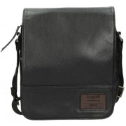 Bugatti Men´s crossbody Bag Moto D 49836201 Black