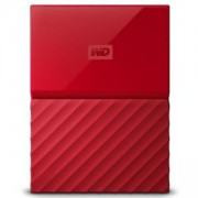 Външен диск HDD 1TB USB 3.0 MyPassport Червен NEW, WDBYNN0010BRD