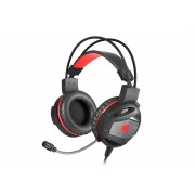 HEADPHONES, Genesis NEON 350 BACKLIGHT, Vibration, Gaming, Microphone, Black (NSG-0943)