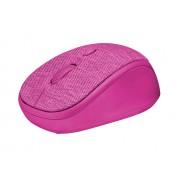 Trust Yvi Fabric pink Оптична Безжична Мишка