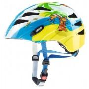 Uvex Kid 1 Monkey - casco bici - bambino - Blue/Yellow