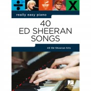 Hal Leonard Really Easy Piano: 40 Ed Sheeran Songs