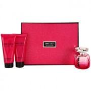 Jimmy Choo Blossom lote de regalo I. eau de parfum 100 ml + leche corporal 100 ml + gel de ducha 100 ml